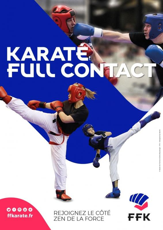 Karate full contact ffk