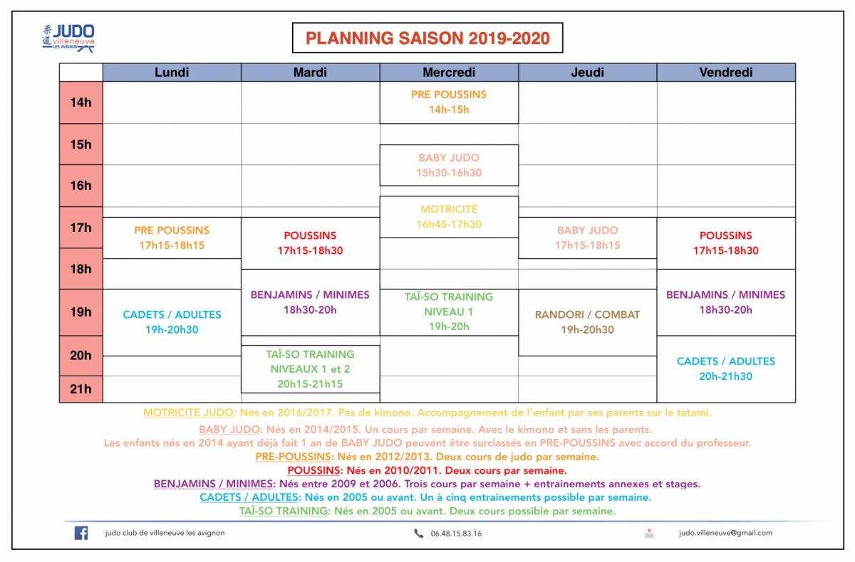Planning 19 20
